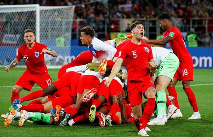 Inglaterra venció a Colombia y avanzó a cuartos de final (Foto: EFE)