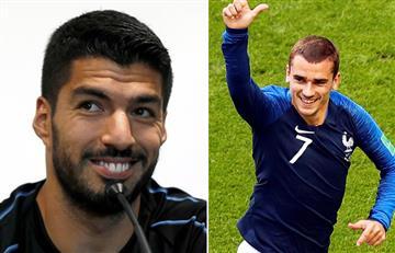 Luis Suárez arremetió contra Griezmann por su sentimiento uruguayo