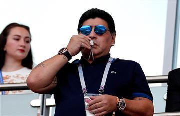 """La FIFA rechaza declaraciones """"inapropiadas"""" de Diego Maradona sobre arbitraje"""