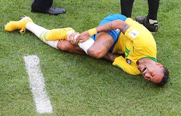 Neymar: Entérate cuanto tiempo ha estado en el piso en el Mundial Rusia 2018