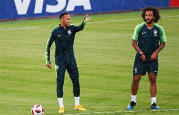 Brasil vs Bélgica: Marcelo y Fernandinho serán titulares este viernes