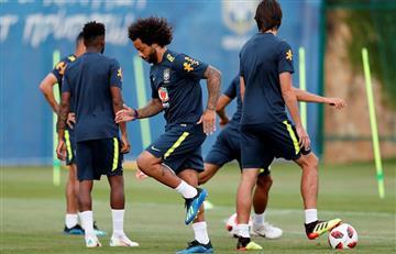 Marcelo vuelve a ser titular en Brasil ante Bélgica por cuartos de final