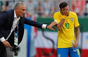 Neymar y el día que recibió críticas de Tite por fingir faltas