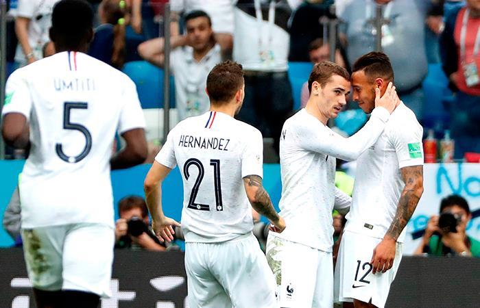Selección de Francia (Foto: EFE)