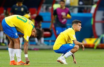 Rusia 2018: Así informó la prensa mundial la eliminación de Brasil