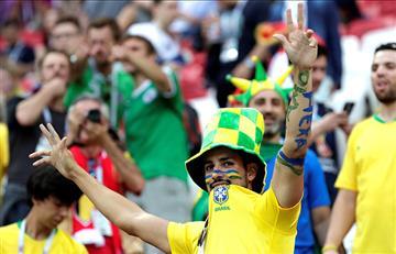 Brasil vs Bélgica: así se vive la fiesta en el Kazán Arena
