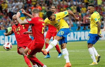 Brasil vs Bélgica: Revive las mejores jugadas del partido