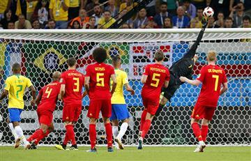 """Tite aseguró que Bélgica ganó por qué Courtois """"estaba iluminado"""""""