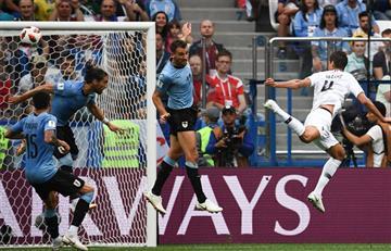 Uruguay vs Francia: revive las mejores jugadas de este partido