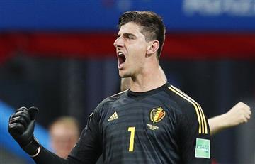 Brasil vs Bélgica: Thibaut Courtois emocionado por eliminar a Brasil