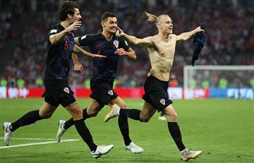 Croacia derrotó a Rusia por penales y se metió a semis del Mundial