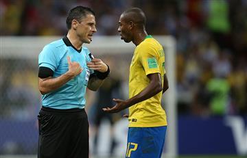 Fernandinho víctima de insultos racistas después del Brasil vs Bélgica
