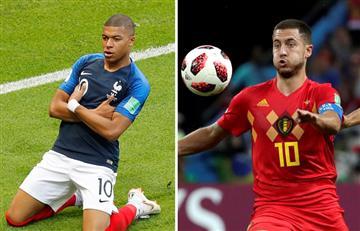 Francia vs Bélgica: fecha, hora y canal del duelo por semifinales