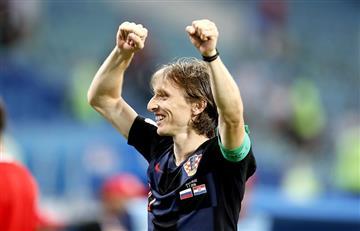 Luka Modric aseguró no pensar en el Balón de Oro