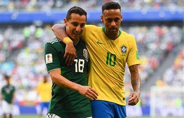 Rusia 2018: Andrés Guardado se burla de Neymar tras su eliminación
