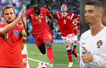 Rusia 2018: Así va la tabla de goleadores tras culminar los cuartos de final