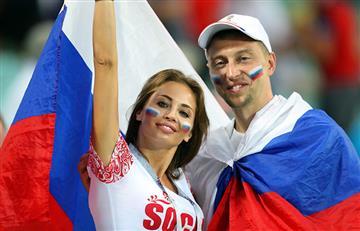 Rusia vs Croacia: así se vive la fiesta en el estadio Fisht de Sochi