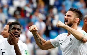 "Olivier Giroud: ""Tengo la intención de batir a Thibaut Courtois"""