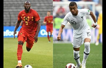 Francia vs Bélgica EN VIVO ONLINE semifinal del Mundial Rusia 2018