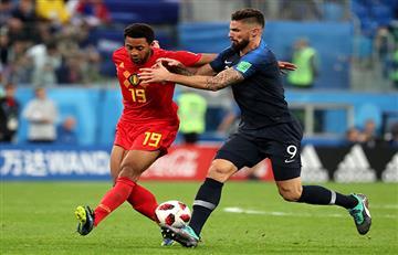 Francia vs Bélgica: las mejores jugadas de la primera semifinal