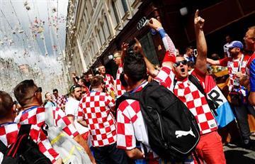 Croatas alquilaron avión para viajar a Rusia para ver la semifinal