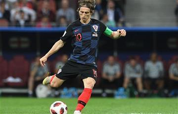 Luka Modric explicó lo que significa jugar la final de Rusia 2018