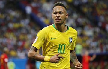 Neymar lamentó no estar en la final pero felicitó a Rakitic y Mbappé
