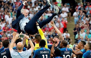 Didier Deschamps consiguió ser campeón como futbolista y entrenador