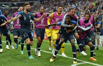 Francia vs Croacia: así celebraron los campeones del mundo