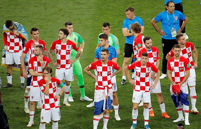 Francia vs Croacia: la tristeza de los croatas tras perder la final