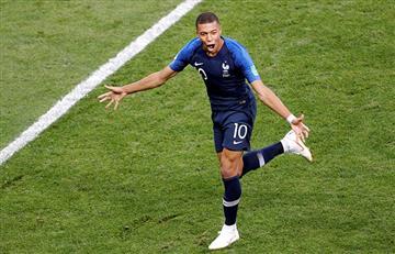 Francia vs Croacia: revive el golazo de Mbappé en la final