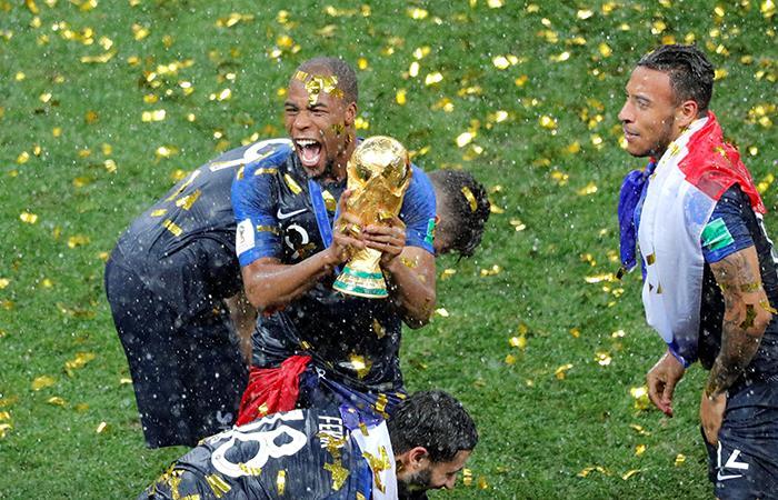 Francia se alza con la Copa Mundial de Futbol