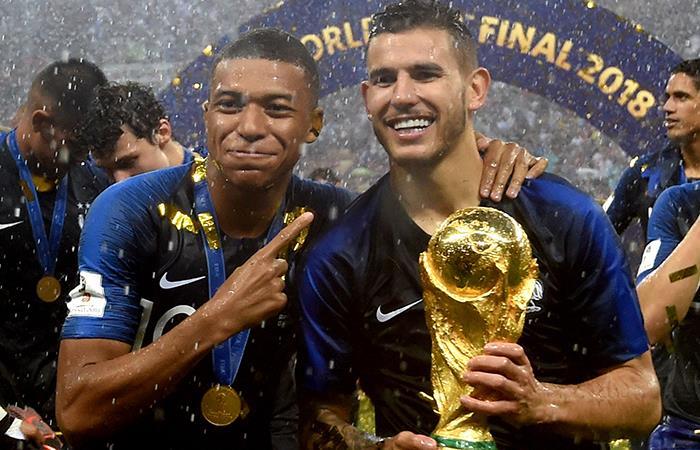 Francia se coronó campeón del Mundial de Rusia 2018. Foto: EFE