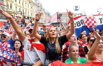 Croacia: así fue recibido el plantel croata tras culminar Rusia 2018