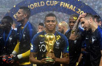 Kylian Mbappé donará el dinero que consiguió tras ganar el Mundial