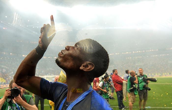 El emotivo discurso de Paul Pogba antes de disputar la final