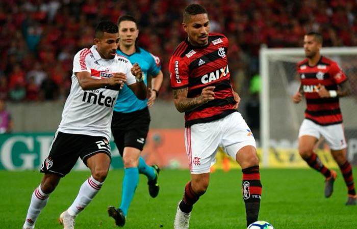 Flamengo con Miguel Trauco y Paolo Guerrero perdieron en el Brasileirao