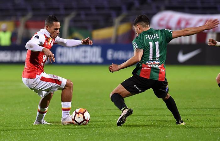 Rampla Juniors sacó el empate ante Santa Fe de Colombia. Foto: Facebook