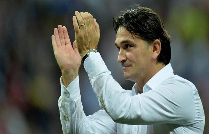 Zlatko Dalic estaría pensando en dejar de ser el DT de Croacia (Foto: EFE)