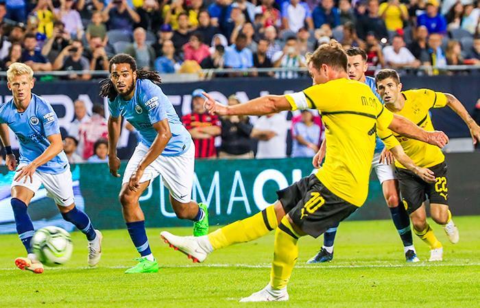 Borussia Dortmund Derrot U00f3 Al Manchester City Por La