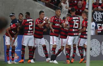 Flamengo con Paolo Guerrero venció a Botafogo por el Brasileirao