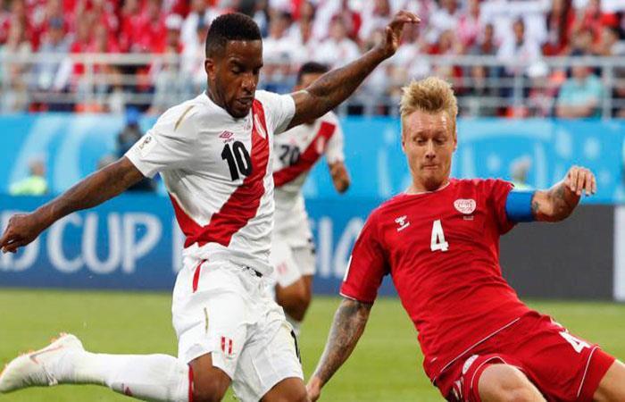 "Jefferson Farfán: ""Si ganábamos ante Dinamarca establecíamos la base"""