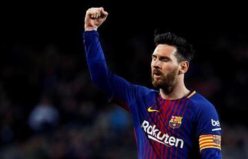 Lionel Messi cumple una década luciendo la '10' en el Barcelona
