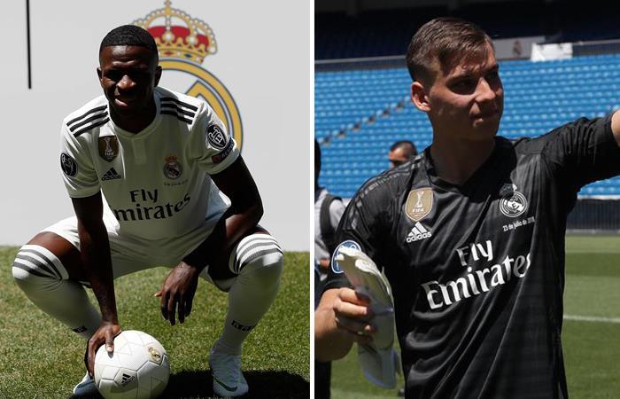Fichajes del Real Madrid. Foto: EFE