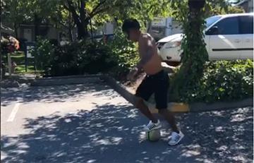 Yordy Reyna y su sorprendente jugada que se ha vuelto viral en redes