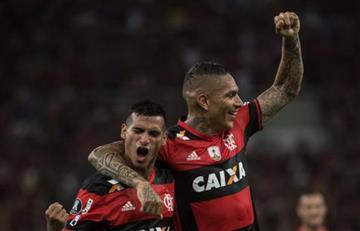 Paolo Guerrero y Trauco convocados para el duelo entre Flamengo y Santos