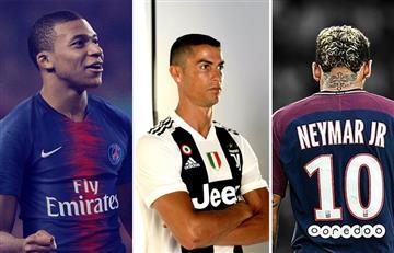 Los 10 fichajes más caros en la historia del fútbol