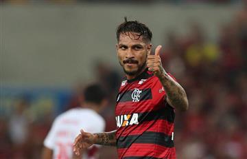 """Paolo Guerrero: vicepresidente del Flamengo buscará renovar con el """"9"""""""