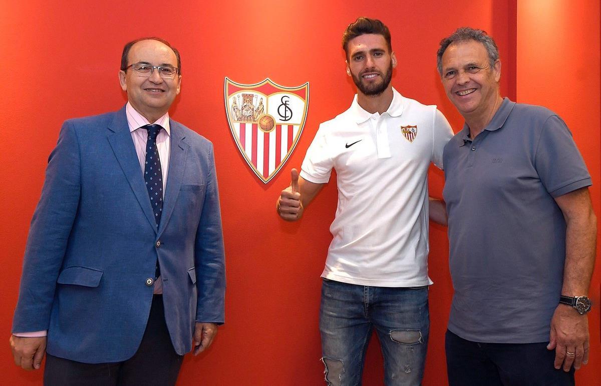 Sergi Gómez es refuerzo del Sevilla FC