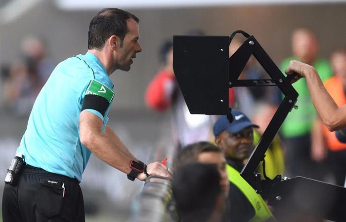 LA Confederación Brasileña de Fútbol anunció el uso del VAR. Foto: EFE